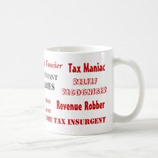 Apodos del contable del impuesto - nombres diverti tazas