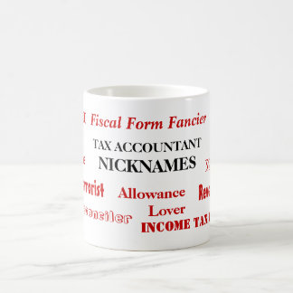 Apodos del contable del impuesto - nombres taza