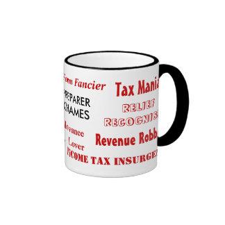 Apodos del preparador de impuesto tazas de café