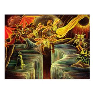 Apokalypsis Lesu Cristi Postcard