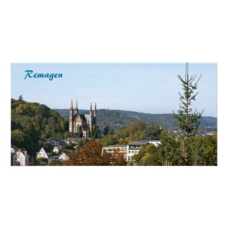 Apollinaris church in Remagen, Germany Card