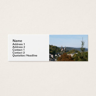 Apollinaris church in Remagen, Germany Mini Business Card