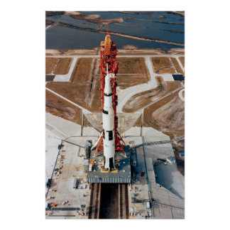 Apollo 10 on the Launch Pad Poster