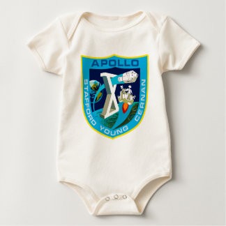 Apollo 10:  To The Moon Again! Baby Bodysuit