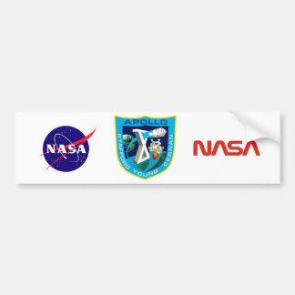 Apollo 10:  To The Moon Again! Bumper Sticker