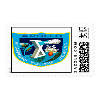 Apollo 10 To The Moon Again Stamps