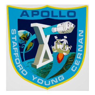 Apollo 10:  To The Moon Again! Posters