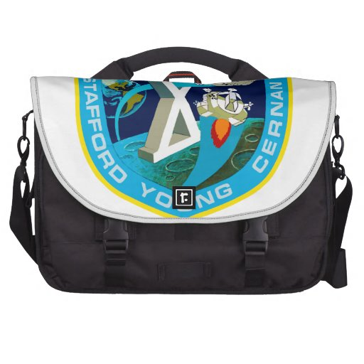 Apollo 10: To the Moon Laptop Messenger Bag