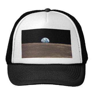 APOLLO 11 EARTHRISE (earth moon solar system) ~ Trucker Hat