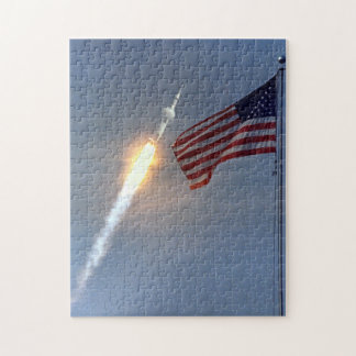 Apollo 11 Heads For The Moon Jigsaw Puzzle