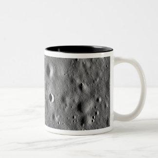 Apollo 11 landing site Two-Tone coffee mug