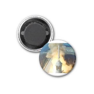 Apollo 11 Launch 1 Inch Round Magnet