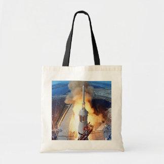 Apollo 11 Launch Canvas Bags