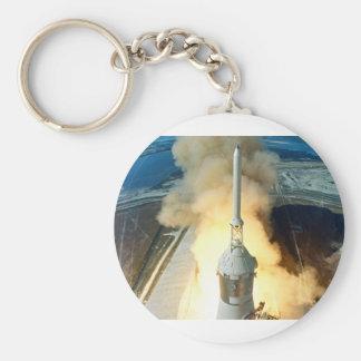 Apollo 11 Launch Basic Round Button Keychain