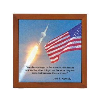 Apollo 11 Launch Desk Organizer