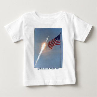 Apollo 11 Launch July 16, 1969 Baby T-Shirt