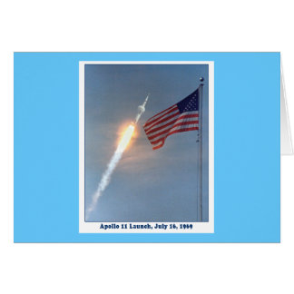 Apollo 11 Launch July 16, 1969 Card