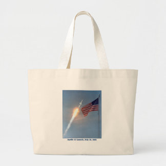 Apollo 11 Launch July 16, 1969 Large Tote Bag