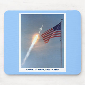 Apollo 11 Launch July 16, 1969 Mouse Pad