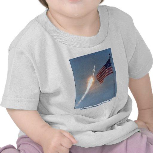 Apollo 11 Launch July 16, 1969 Tshirts