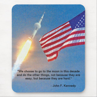 Apollo 11 Launch Mouse Pad