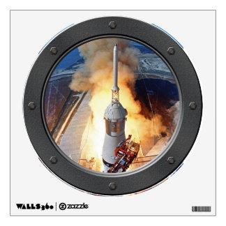 Apollo 11 Launch Porthole Wall Sticker