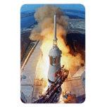 Apollo 11 Launch Rectangular Photo Magnet