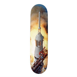 Apollo 11 Launch Skateboard