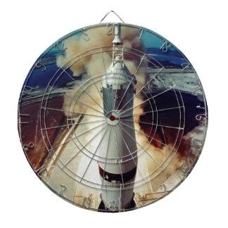 Apollo 11 Lift Off Dartboard