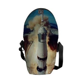 Apollo 11 Lift Off Courier Bags