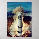 Apollo 11 Lift Off Poster