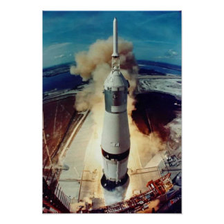 Apollo 11 Lift Off Poster