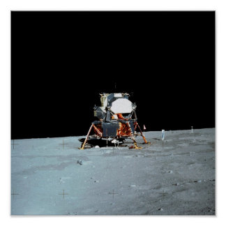 "Apollo 11 Lunar Module ""Eagle"" Poster"
