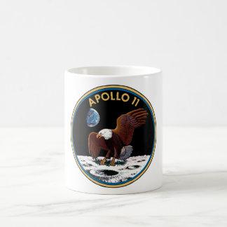 Apollo 11 mission patch mug