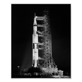 Apollo 11 on the Launch Pad Poster