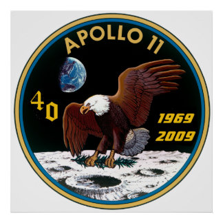 Apollo 11: The 40th Anniversary Poster