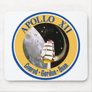 Apollo 12: Back to the Moon! Mouse Pads