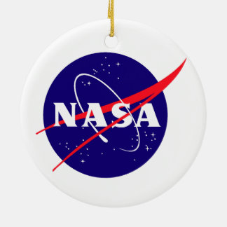Apollo 12: Back to the Moon! Double-Sided Ceramic Round Christmas Ornament