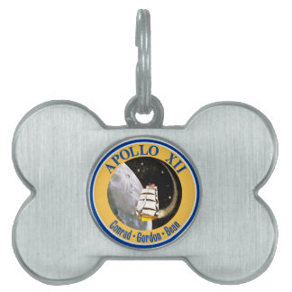 Apollo 12: Back to the Moon! Pet ID Tag