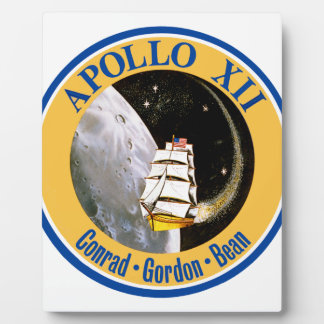 Apollo 12: Back to the Moon! Plaque