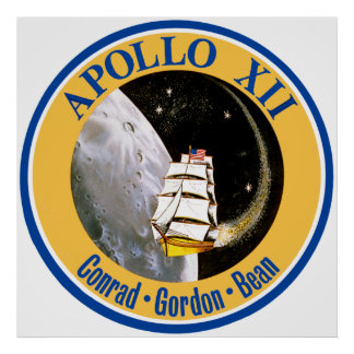Apollo 12: Back to the Moon! Poster