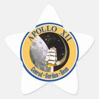 Apollo 12: Back to the Moon! Star Sticker