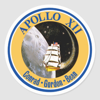 Apollo 12: Back to the Moon! Stickers