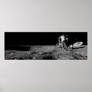 Apollo 12 Lunar Module Poster