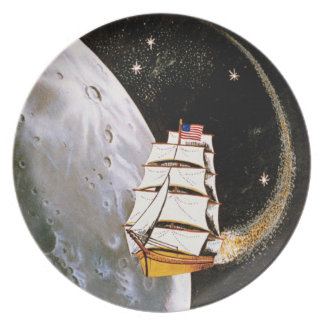 Apollo 12 Mission Patch Dinner Plate