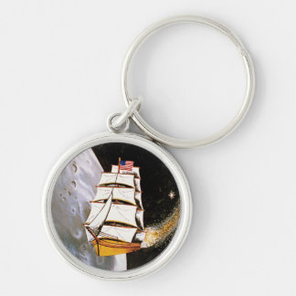 Apollo 12 Mission Patch Keychains