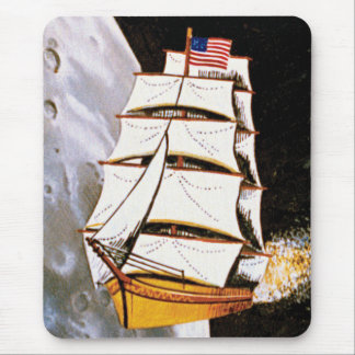 Apollo 12 Mission Patch Logo Mouse Pad