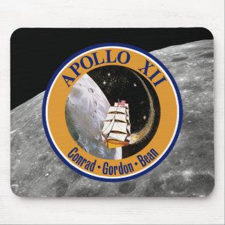 Apollo 12 Mission Patch Mousepads