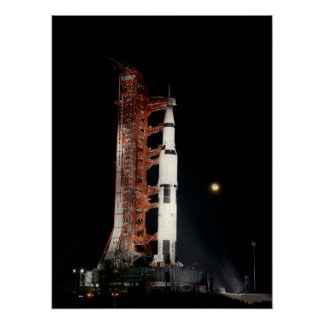 Apollo 12 on the Launch Pad Poster