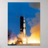 Apollo 13 Launch Poster 24x36